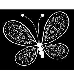 Stylised butterfly vector