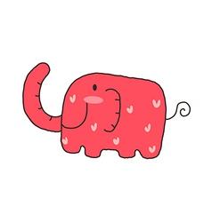 Icon elephant vector