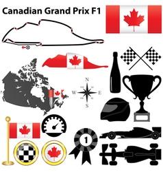 Canada grand prix f1 vector