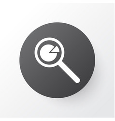 Statistic research icon symbol premium quality vector