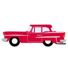 vintage luxury auto vector image