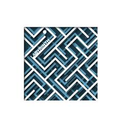 maze background labirinth vector image