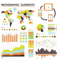 infographic vector image