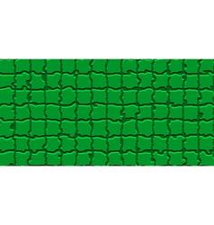 The mosaic flag of libya vector