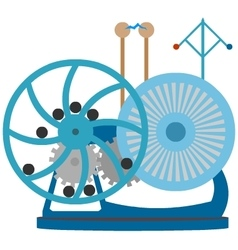 Perpetual Motion Machine fantasy steampunk device vector image vector image