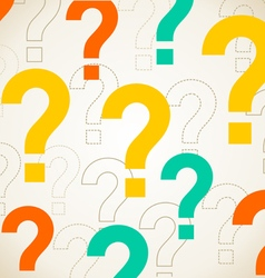 Question background vector