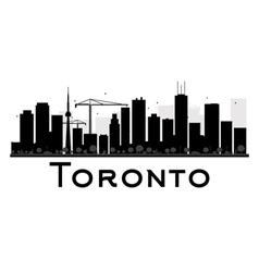 Toronto silhouette vector