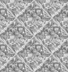 Diamond surface seamless pattern vector