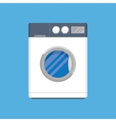 modern washing machine vector image vector image