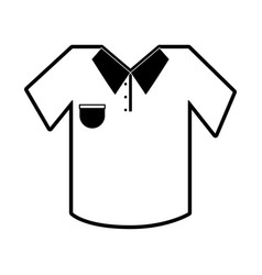 polo shirt icon image vector image