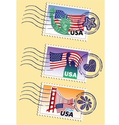 International stamps vector