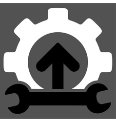 Integration tools icon vector