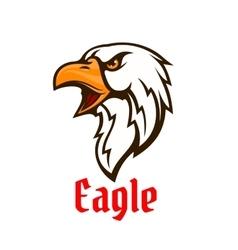 Eagle emblem hawk graphic symbol vector