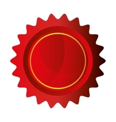 seal stamp guaranted icon vector image