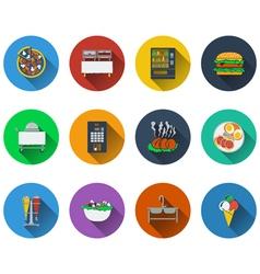 Set of restaurant icons set of restaurant icons vector