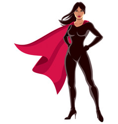super heroine asian vector image