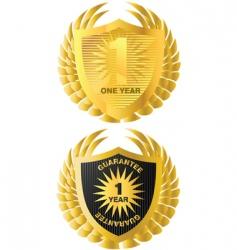 heraldic icons vector image