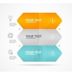 Option banner infographic concept vector
