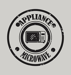 Home appliance design vector