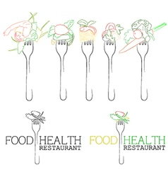 Food health vector