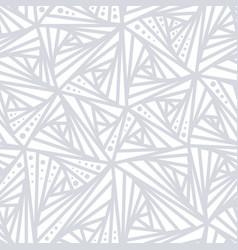seamless light geometric pattern vector image