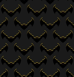 Bats background Flock of flying bloodsuckers vector image
