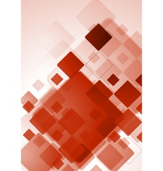 Bright red tech design vector image vector image