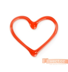 Sweet heart vector image