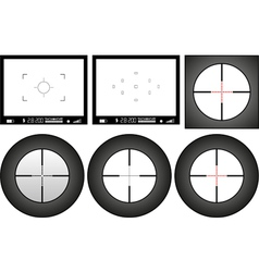 viewfinder vector image
