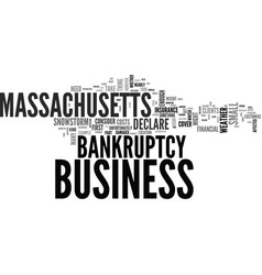 What to do if you have to declare bankruptcy in vector