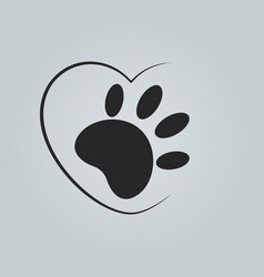 animal cruelty free logo not tested on animals vector image