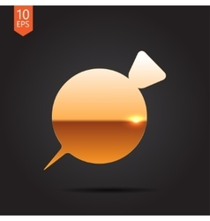 beet icon vector image