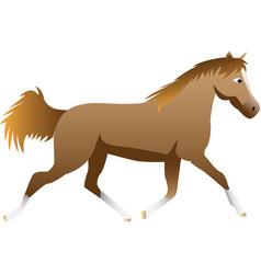 Cartoon horse vector