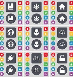 Dictionary marijuana house earth folder cloud vector