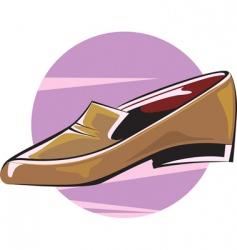 shoe vector image vector image