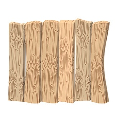 Wooden wall old wooden boards shield made of wood vector