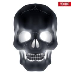 X-ray human skull vector