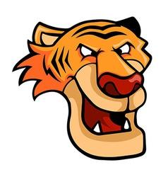 Smirking Tiger vector image
