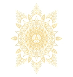 Chakra Manipura vector image