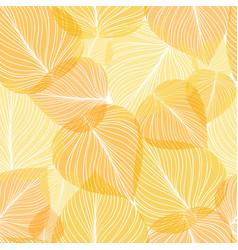 Seamless leaf background vector