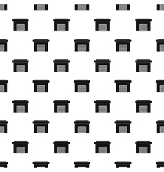 Garage pattern simple style vector