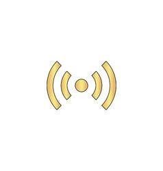 network computer symbol vector image vector image