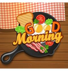 English breakfast vector image