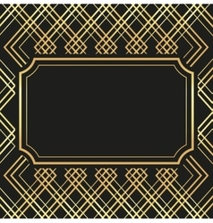 Flat about gatsby background design vector image