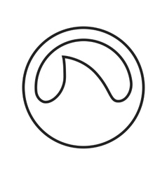 Grooveshark vector image vector image