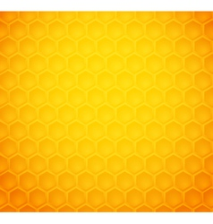 Seamless abstract honeycomb pattern vector