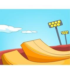 Ski Resort vector image