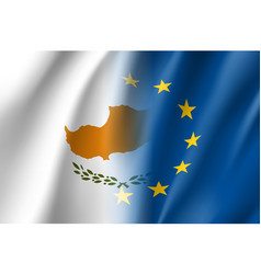 Symbol cyprus is eu member vector