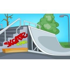 Skate Ramp vector image