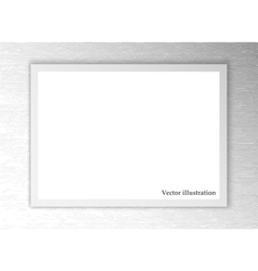 White sheet of paper background vector
